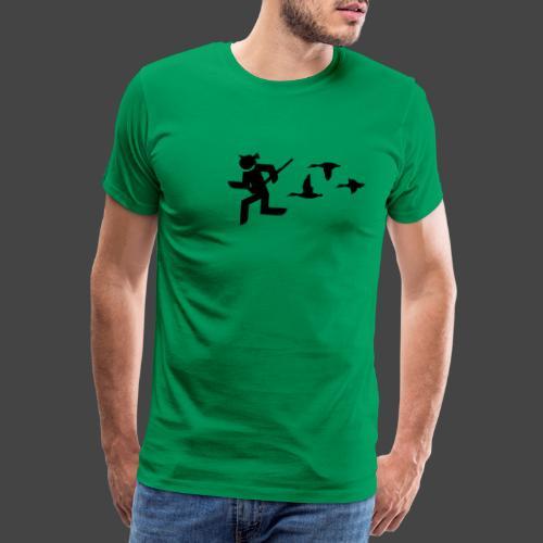 Entenjäger - Männer Premium T-Shirt