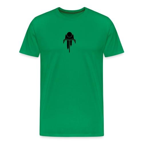 cyclist png - Men's Premium T-Shirt