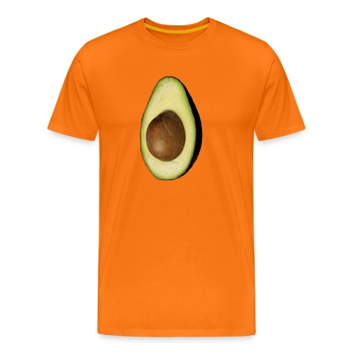 Real Photo Trendy AVOCADO vertical - Männer Premium T-Shirt