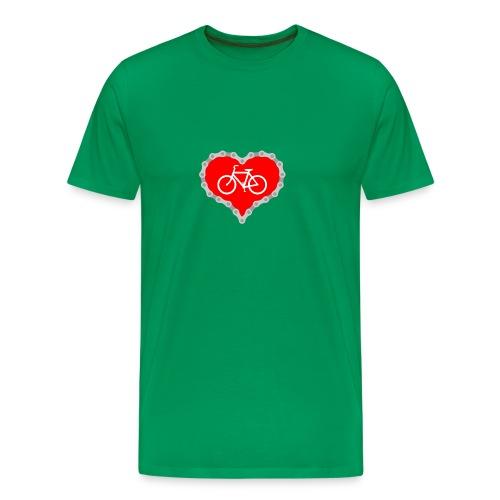 Miłość Biking - Koszulka męska Premium