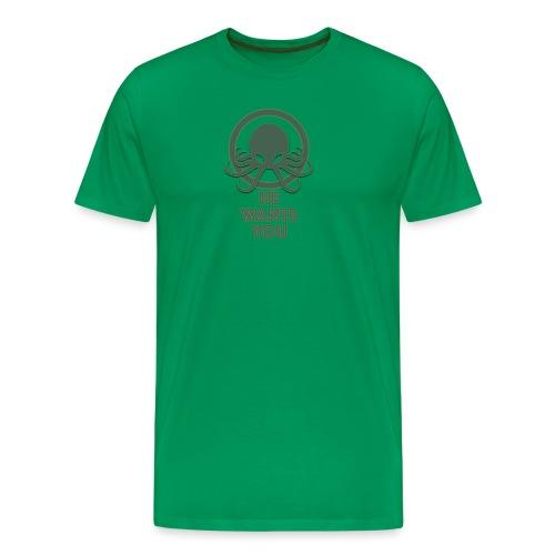 Cthulu wants you - Camiseta premium hombre
