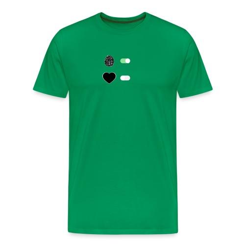 Il Cervello comanda? - Maglietta Premium da uomo