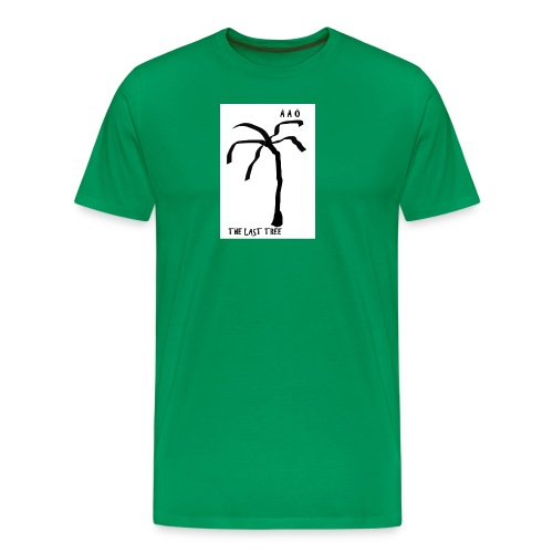 Draw-palm-black- - Premium-T-shirt herr