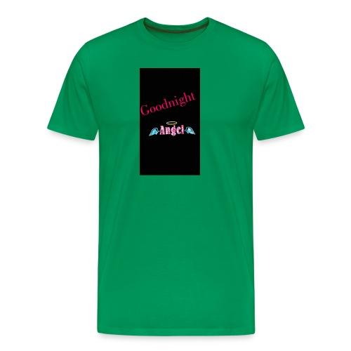 goodnight Angel Snapchat - Men's Premium T-Shirt