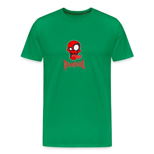 MAD SKULL - Deadpool - Maglietta Premium da uomo