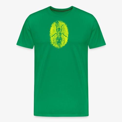 Fluga Yellow - Premium-T-shirt herr