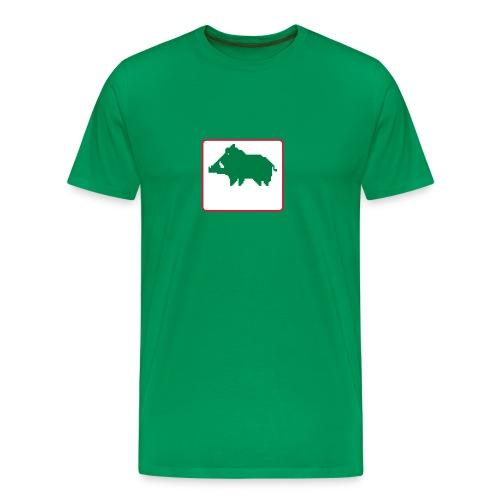 une ardeur d avance logo fond blanc - T-shirt Premium Homme