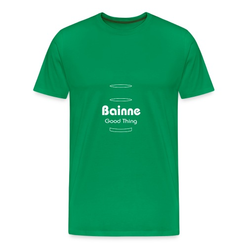 bainne copy - Men's Premium T-Shirt
