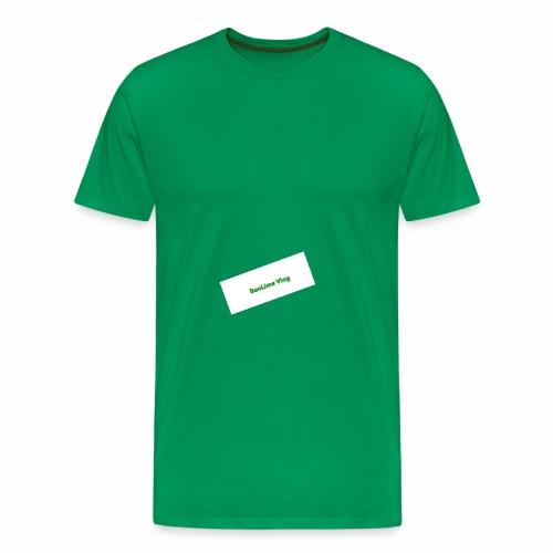 The BenLime Vlog sing - Premium-T-shirt herr