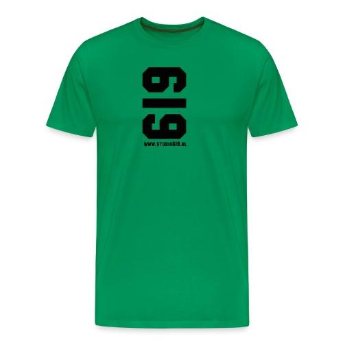 619 American Apparel - Mannen Premium T-shirt