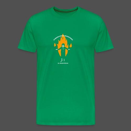 Pyromanisch Depressief - Mannen Premium T-shirt