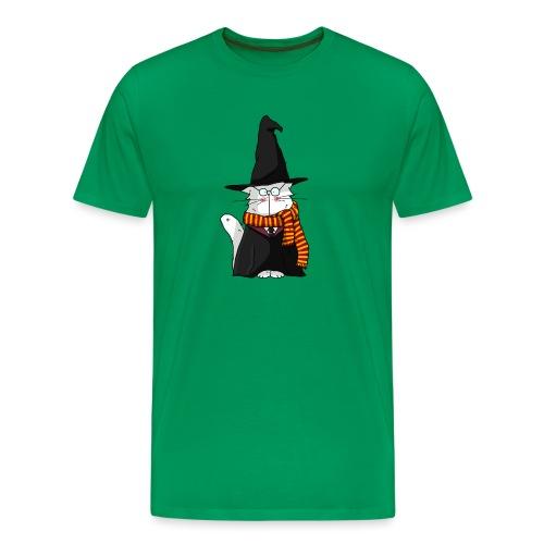 Le chat sorcier - T-shirt Premium Homme