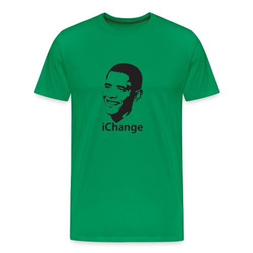 obamaichange - Mannen Premium T-shirt