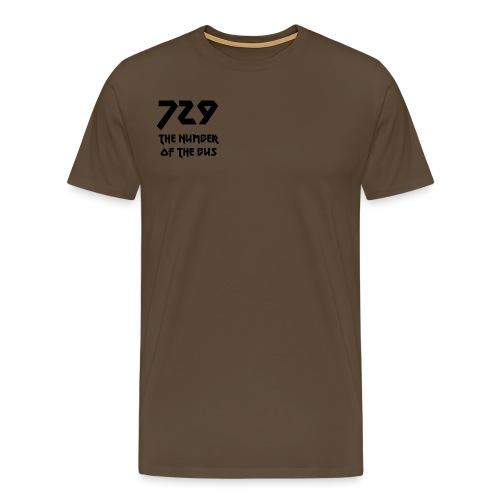 729 grande nero - Maglietta Premium da uomo