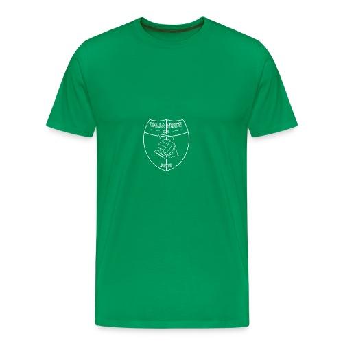 vallalogo special white - Männer Premium T-Shirt