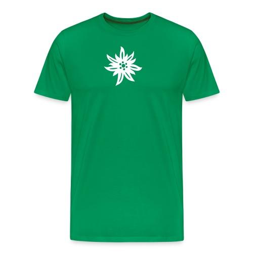 Edelweiss - Männer Premium T-Shirt