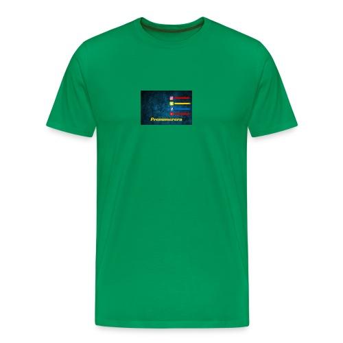 Mustafaalsaeedi - Premium-T-shirt herr