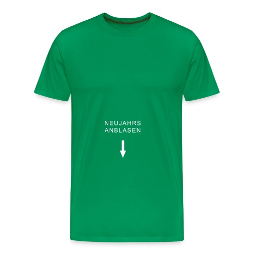 mundart neujahrsanblasen - Männer Premium T-Shirt