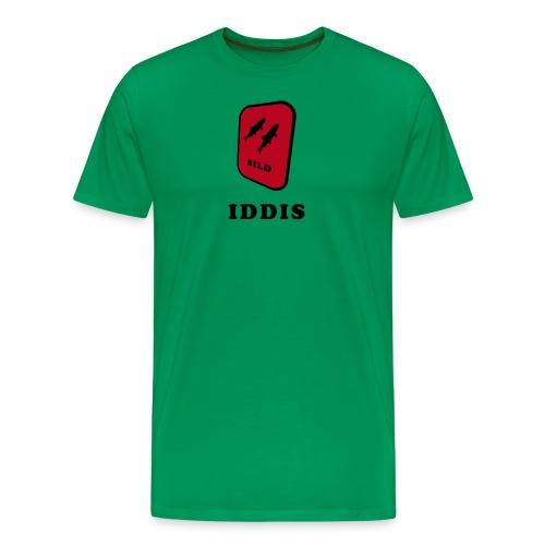 iddis2 - Premium T-skjorte for menn