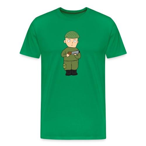 JanneMasa logo - Miesten premium t-paita