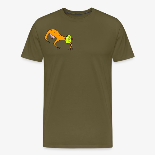 The Man - Premium-T-shirt herr