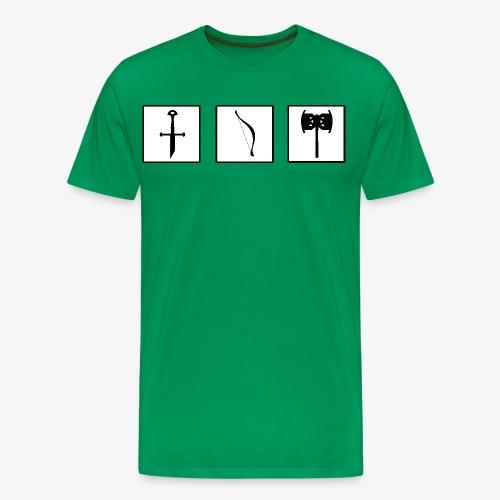 Aragorn's broken sword - Men's Premium T-Shirt