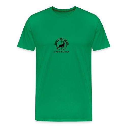 Hold my Beer - Männer Premium T-Shirt