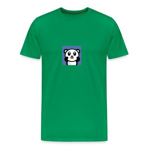 Shirt met Logo - Mannen Premium T-shirt