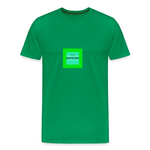 jag är en supoter - Premium-T-shirt herr