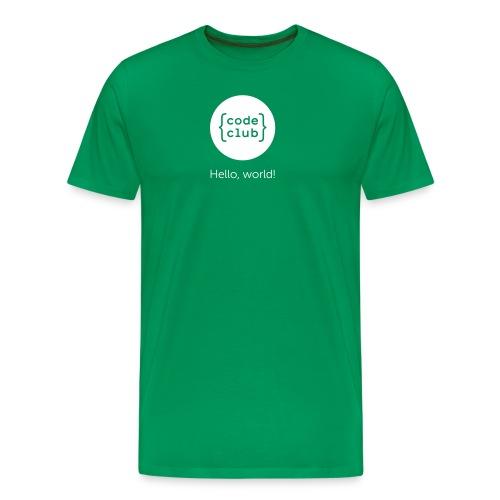 cchelloworld - Men's Premium T-Shirt