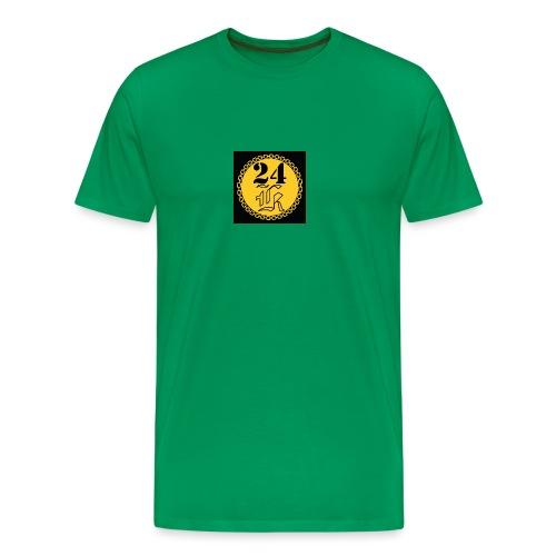 24k - Premium-T-shirt herr