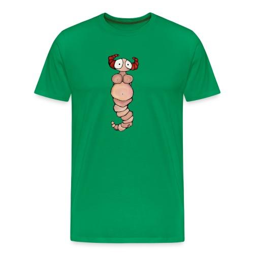 wormvrouw voor sticker huidskleur A png png - Mannen Premium T-shirt