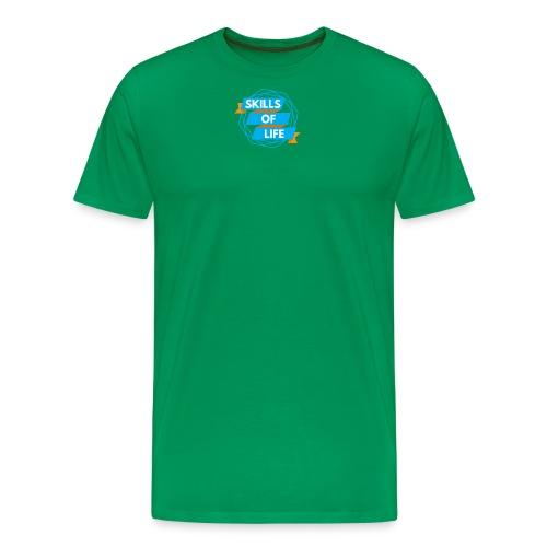Skills of Life Logo - Men's Premium T-Shirt