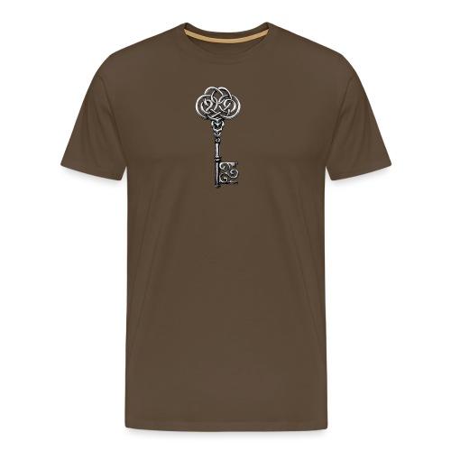 CHAVE-celtic-key-png - Camiseta premium hombre