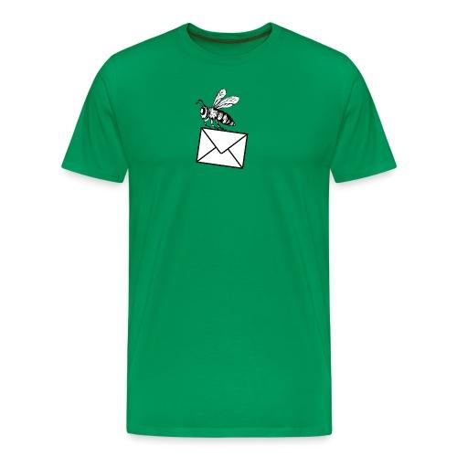beeMail png - Men's Premium T-Shirt