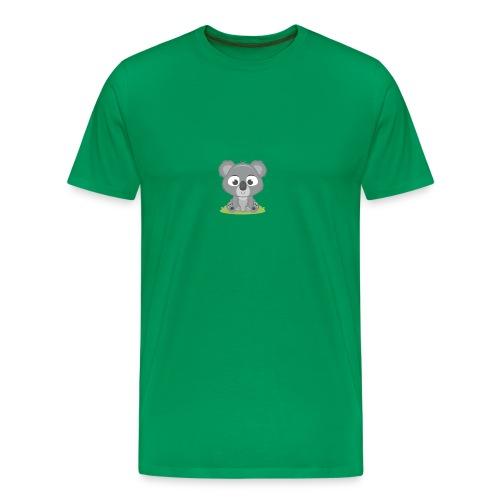 baby-koala - Premium T-skjorte for menn