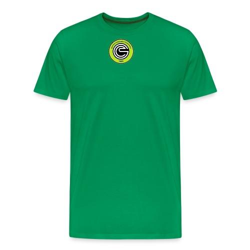 Logo GCC verde fluo errea senza contorno png - Maglietta Premium da uomo