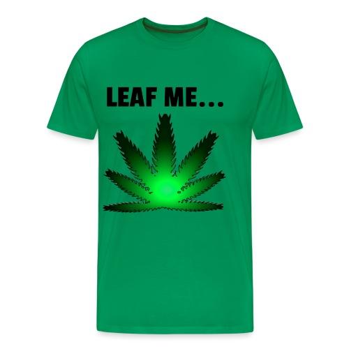Leaf me - Mannen Premium T-shirt