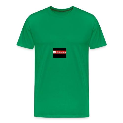 subsribe - Men's Premium T-Shirt