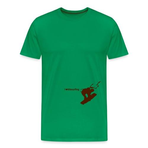 kitesurfing - Maglietta Premium da uomo