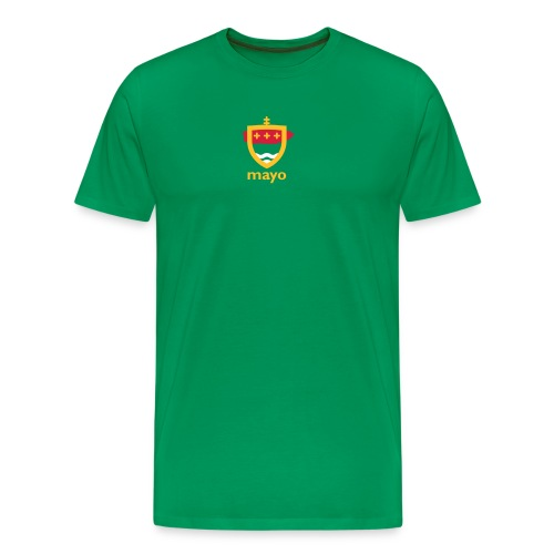 mayo artwork crest - Men's Premium T-Shirt