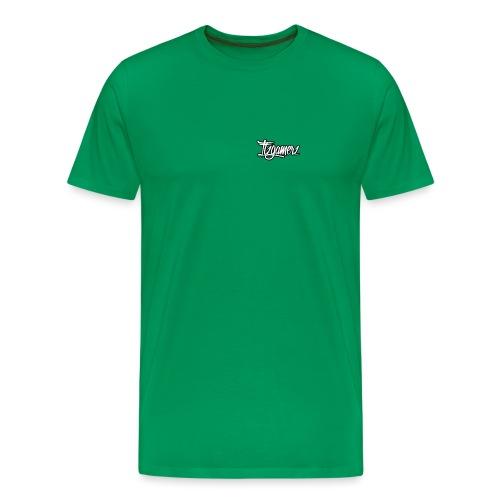 itzgamerz signature with outline - Men's Premium T-Shirt