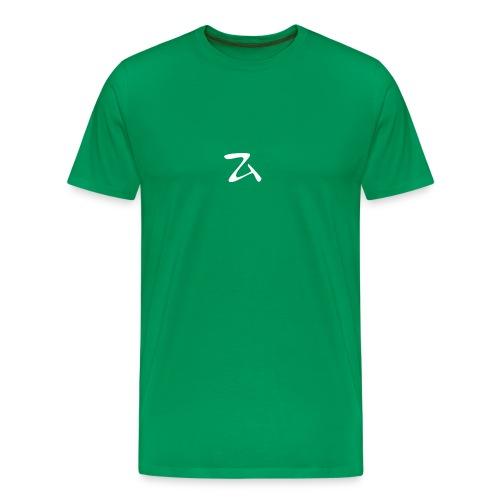 ZArt-white - Men's Premium T-Shirt