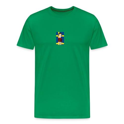 SWEBuster - Premium-T-shirt herr