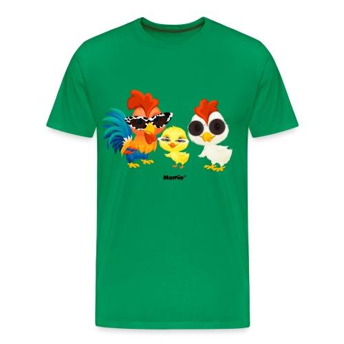 Huhn - von Momio Designer Emeraldo. - Männer Premium T-Shirt