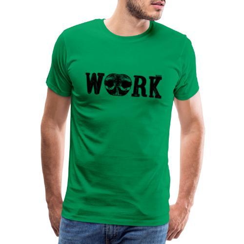 Nose Work Nose Black - Miesten premium t-paita