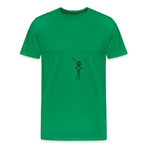 Stickman Forthright - Men's Premium T-Shirt
