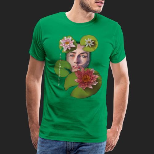 Friluftsliv L'art de se connecter avec la nature - T-shirt Premium Homme