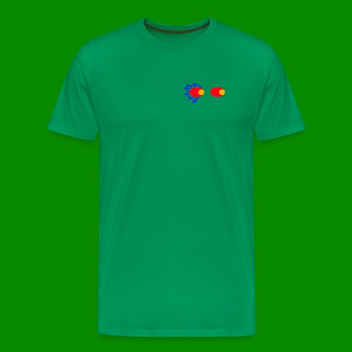 fire eyes - Premium-T-shirt herr