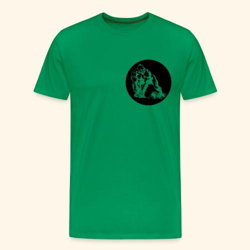 Gorila del parque - Camiseta premium hombre
